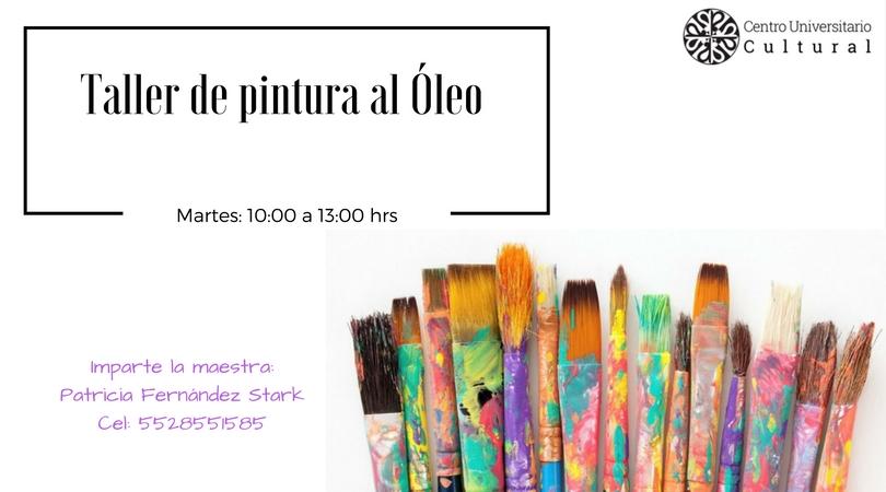 Taller de pintura al Oleo imparte la maestra- Patricia Fernández Stark