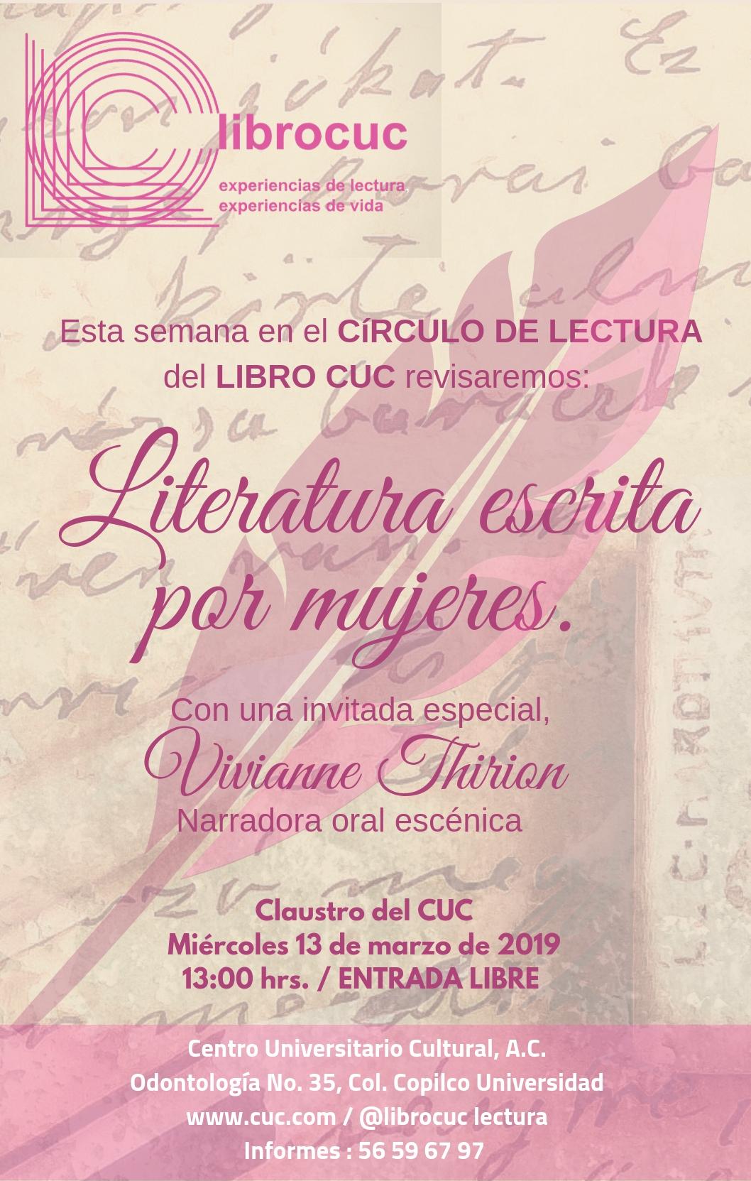 Literatura mujeres
