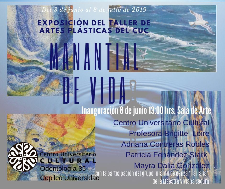 Exposición del taller de artes plásticas del cuc-2