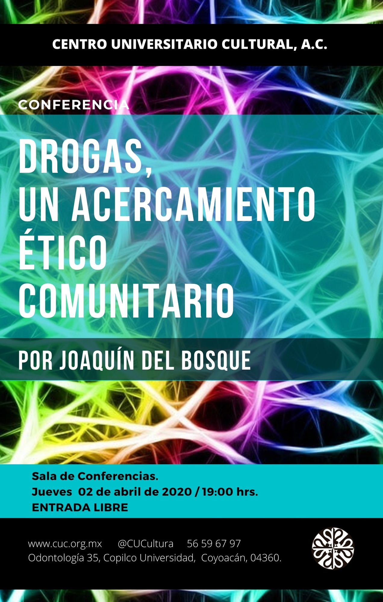 cartel conferencia drogas
