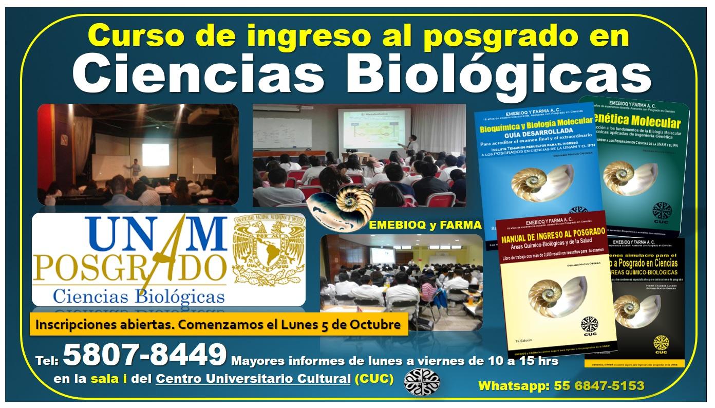 Biológicas Posgrado